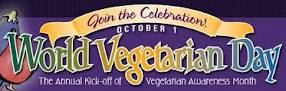 October 1st is World Vegetarian Day